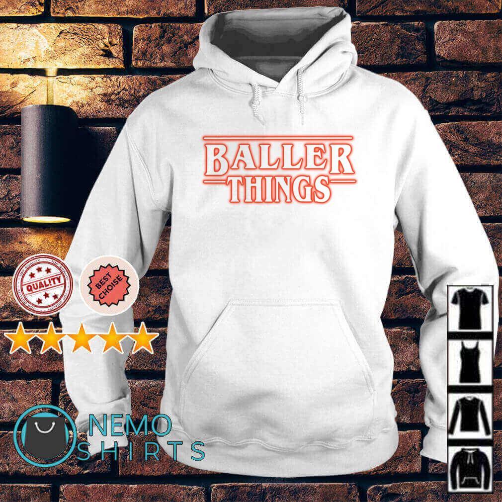 Stranger Things Baller Things Hoodie