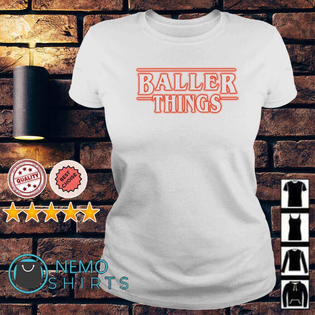 Stranger Things Baller Things Ladies tee