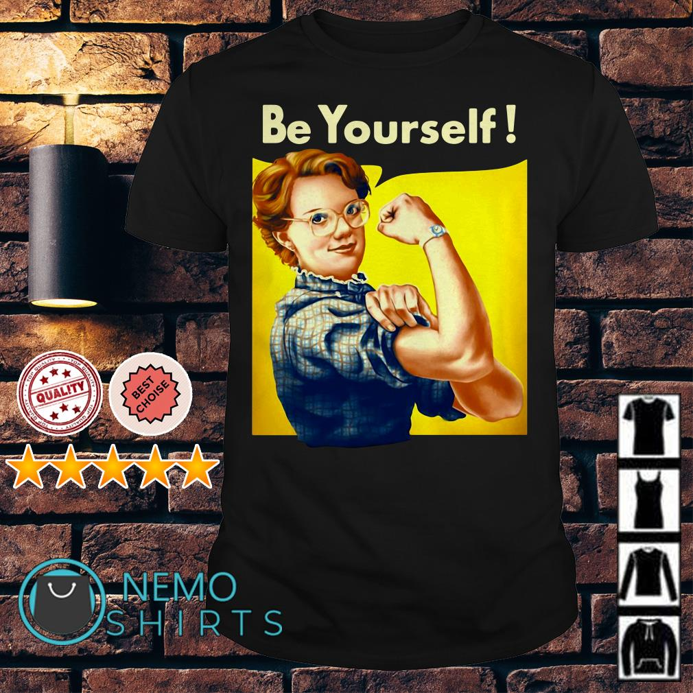Stranger Things Barb be yourself shirt
