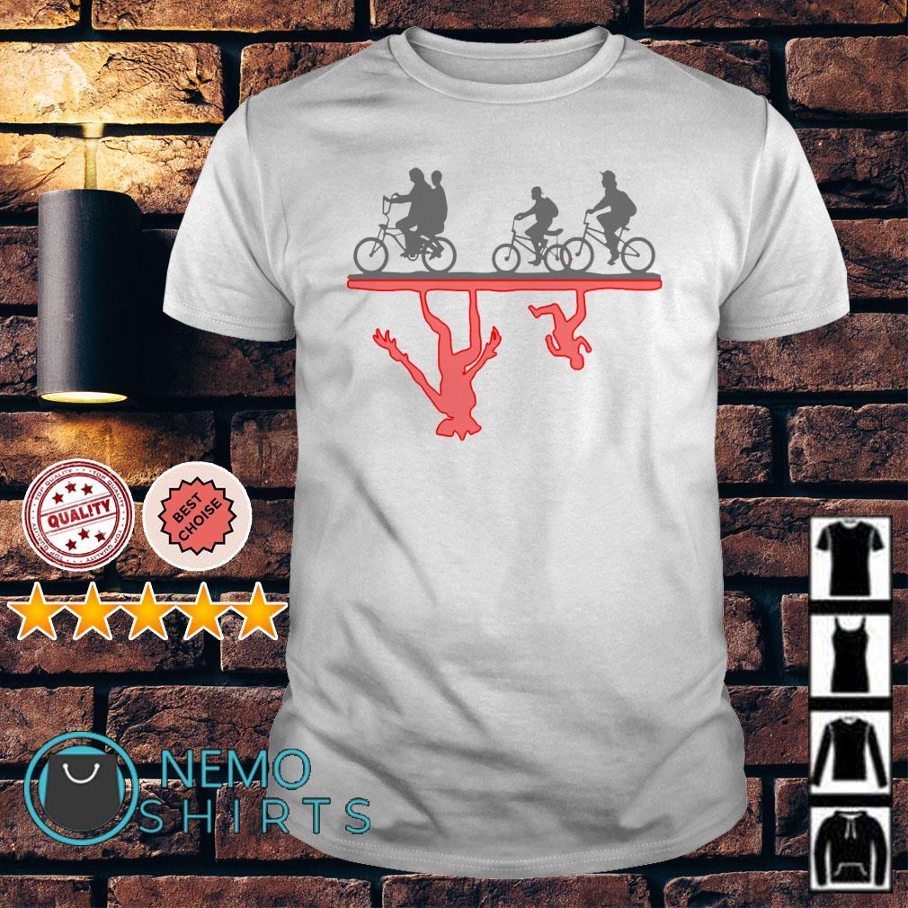 Stranger Things Bike Rides shirt