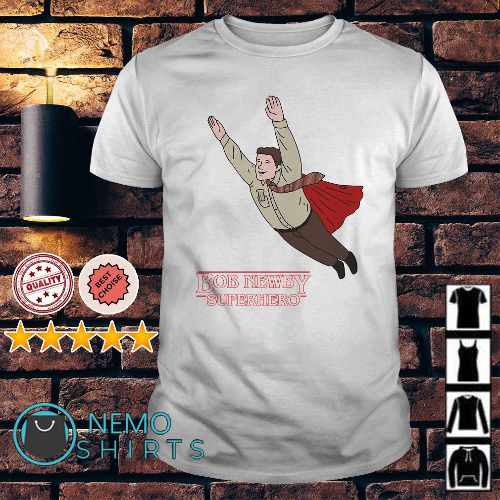 Stranger Things Bob Newby Superhero shirt