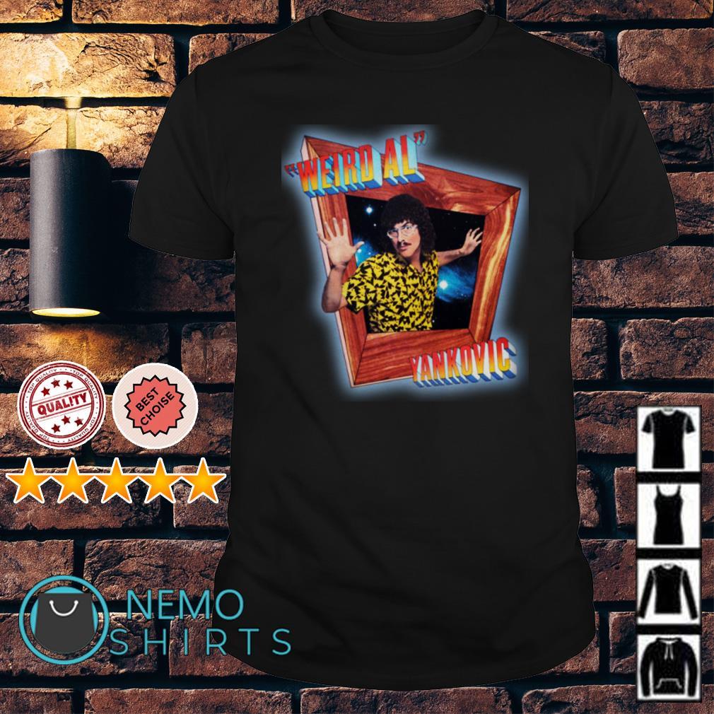 Stranger Things Dustin Weird Al Yankovic in 3D shirt