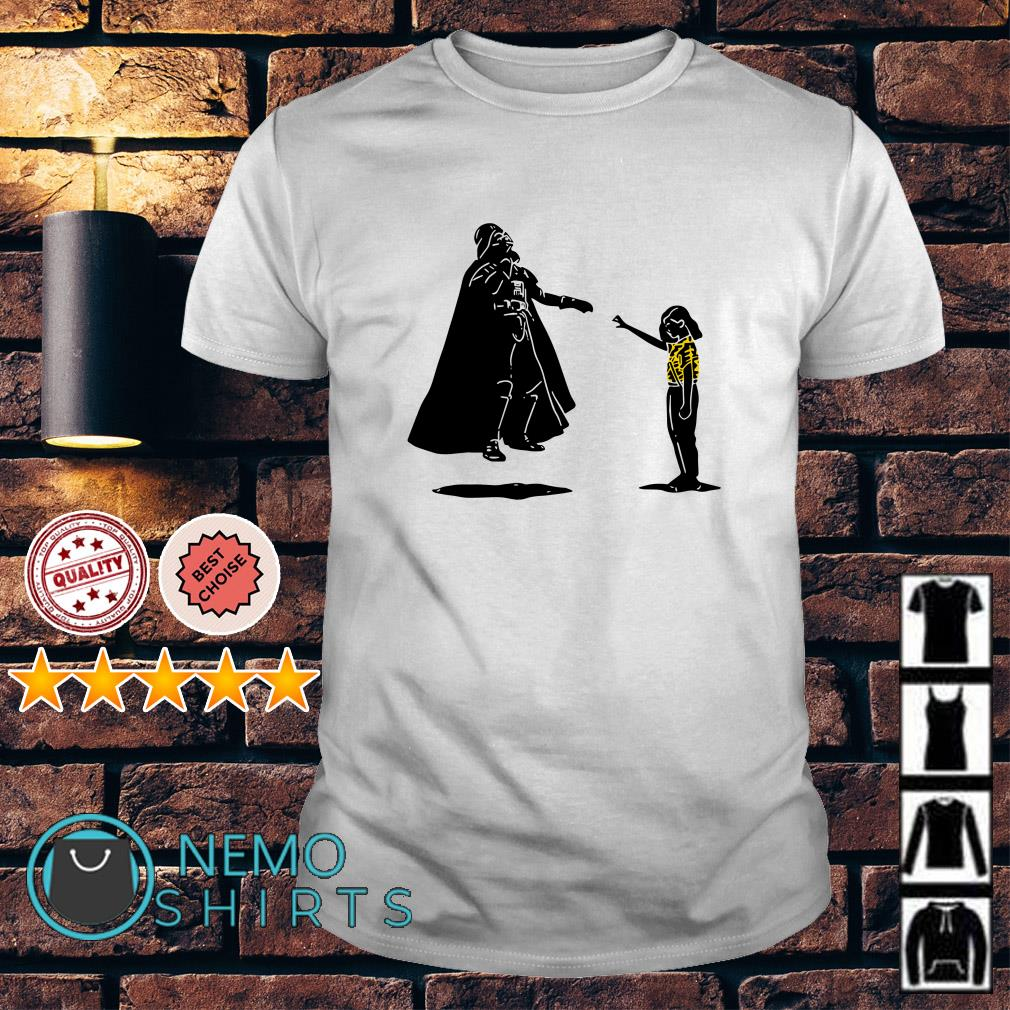 Stranger Things Eleven kill Darth Vader shirt