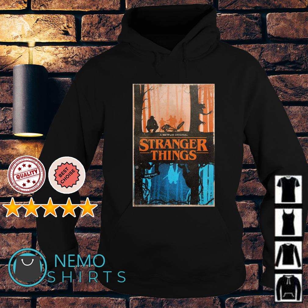 Stranger Things a netflix original upside down Hoodie