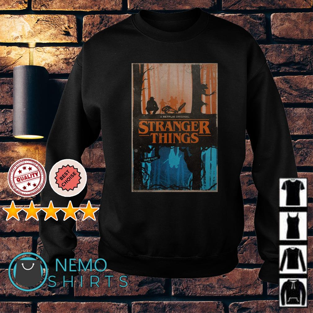 Stranger Things a netflix original upside down Sweater
