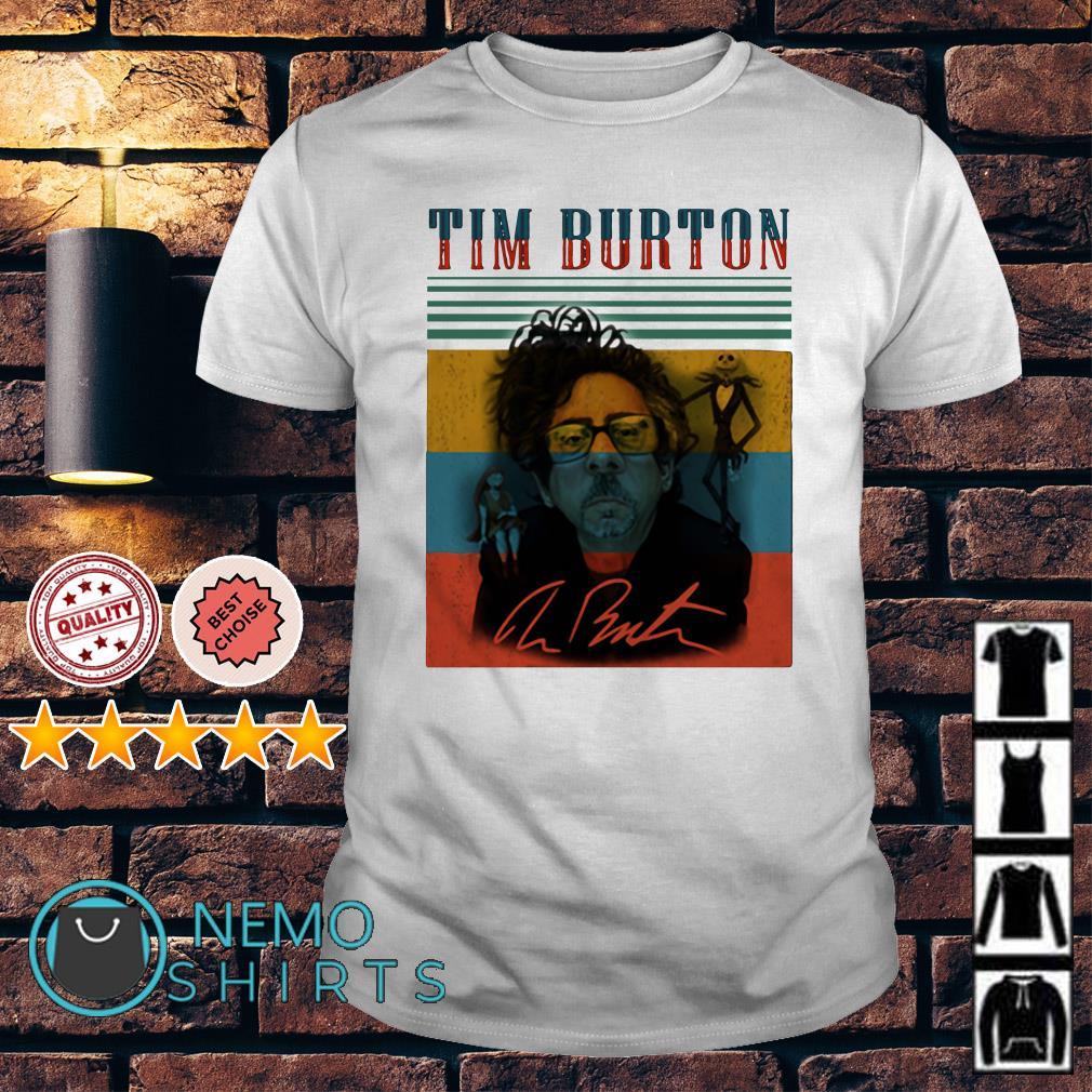 Tim Burton's The Nightmare Before Christmas signature shirt