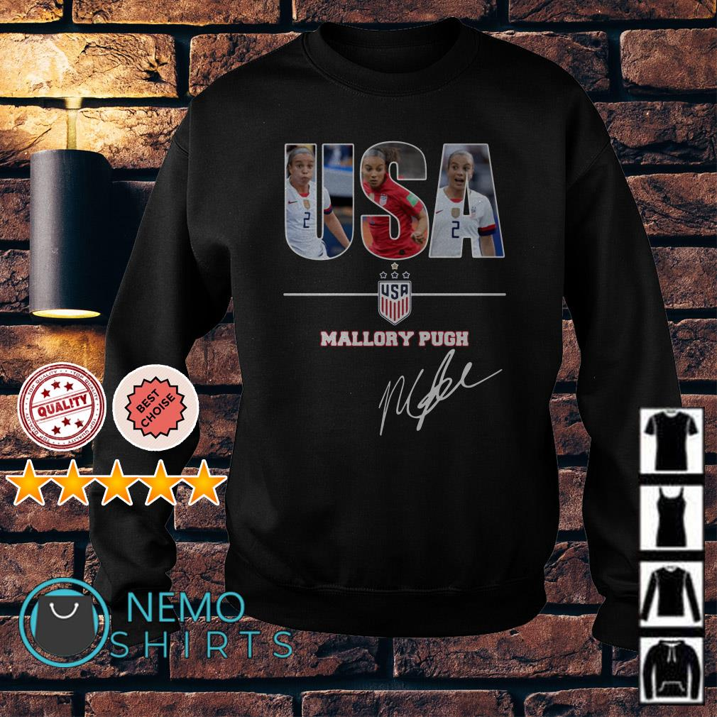 USA women's soccer Mallory Pugh signature Sweater