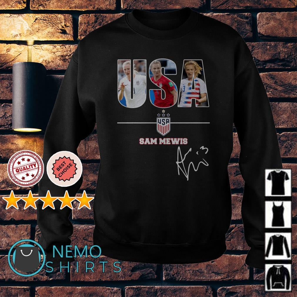USA women's soccer Sam Mewis signature Sweater