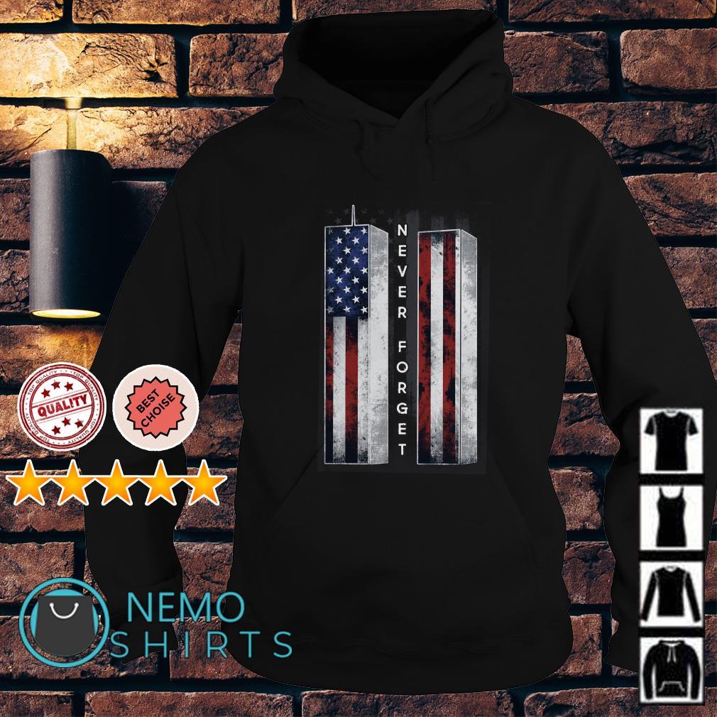 Veteran never forget American flag Hoodie