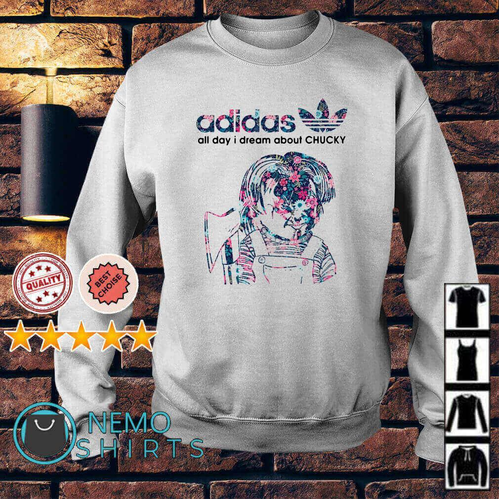 Adidas all day I dream about Chucky Sweater