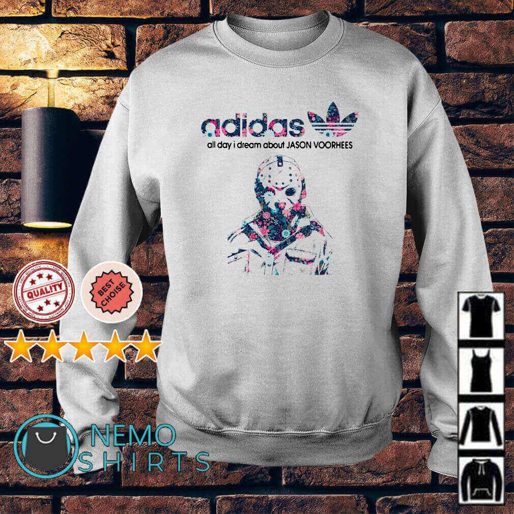 Adidas all day I dream about Jason Voorhees Sweater