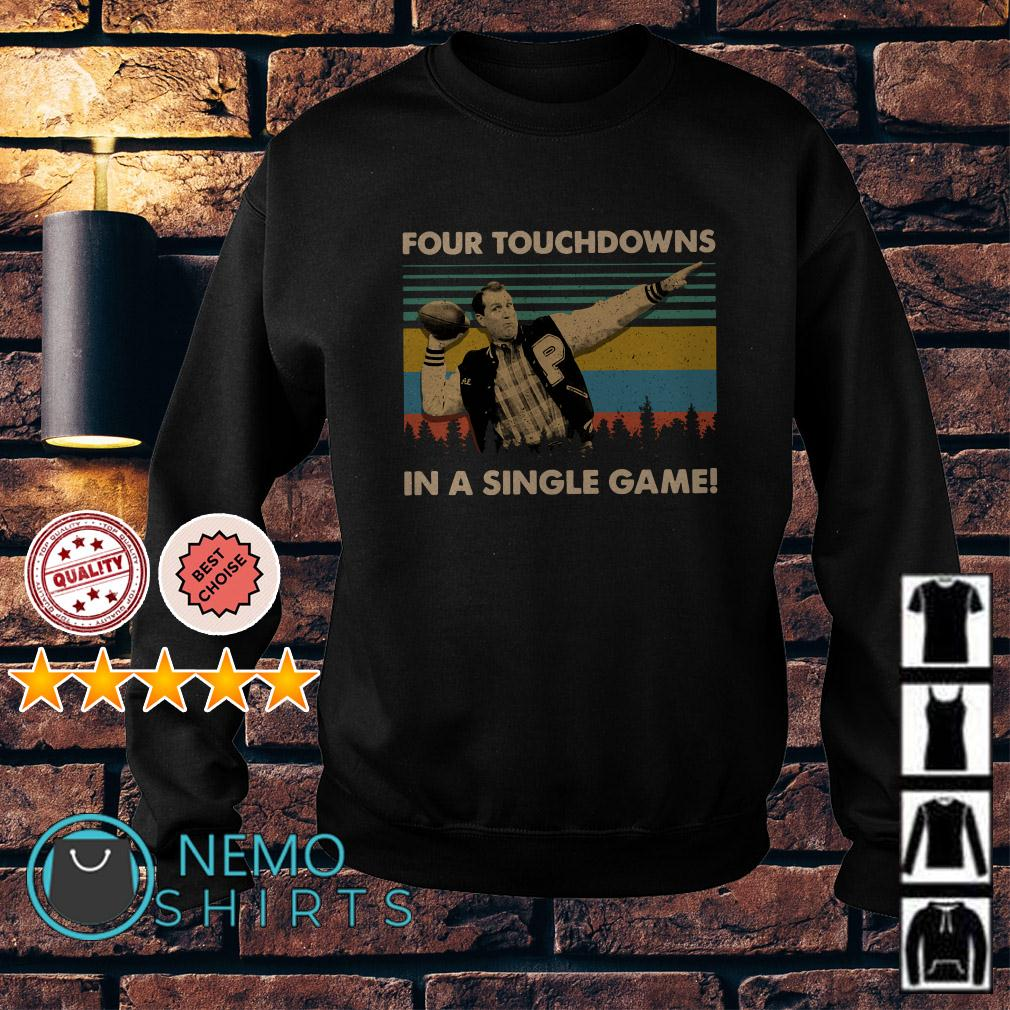 Al Bundy four touchdowns in a single game vintage Sweater