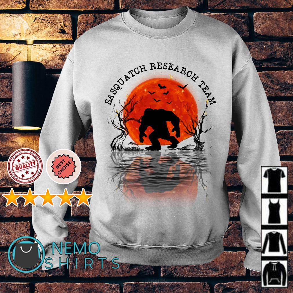 Bigfoot sasquatch research team Sweater