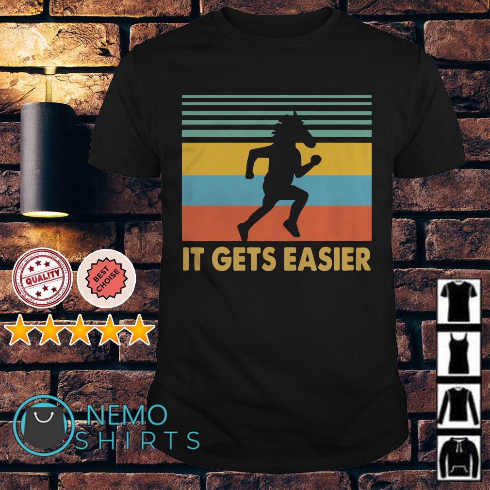 BoJack Horseman it gets easier vintage shirt