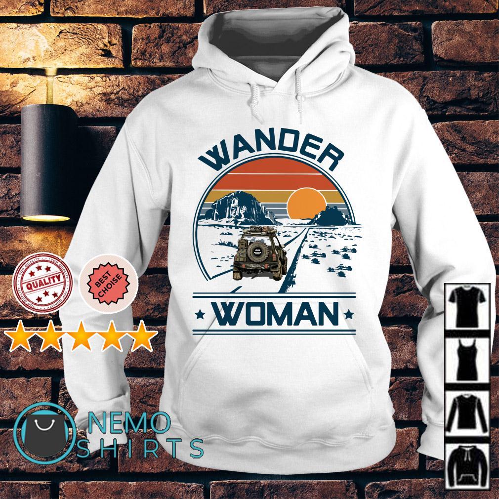 Camping Wander woman Hoodie