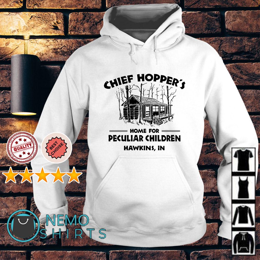 Chief Hopper's home for peculiar children Hawkins IN Hoodie