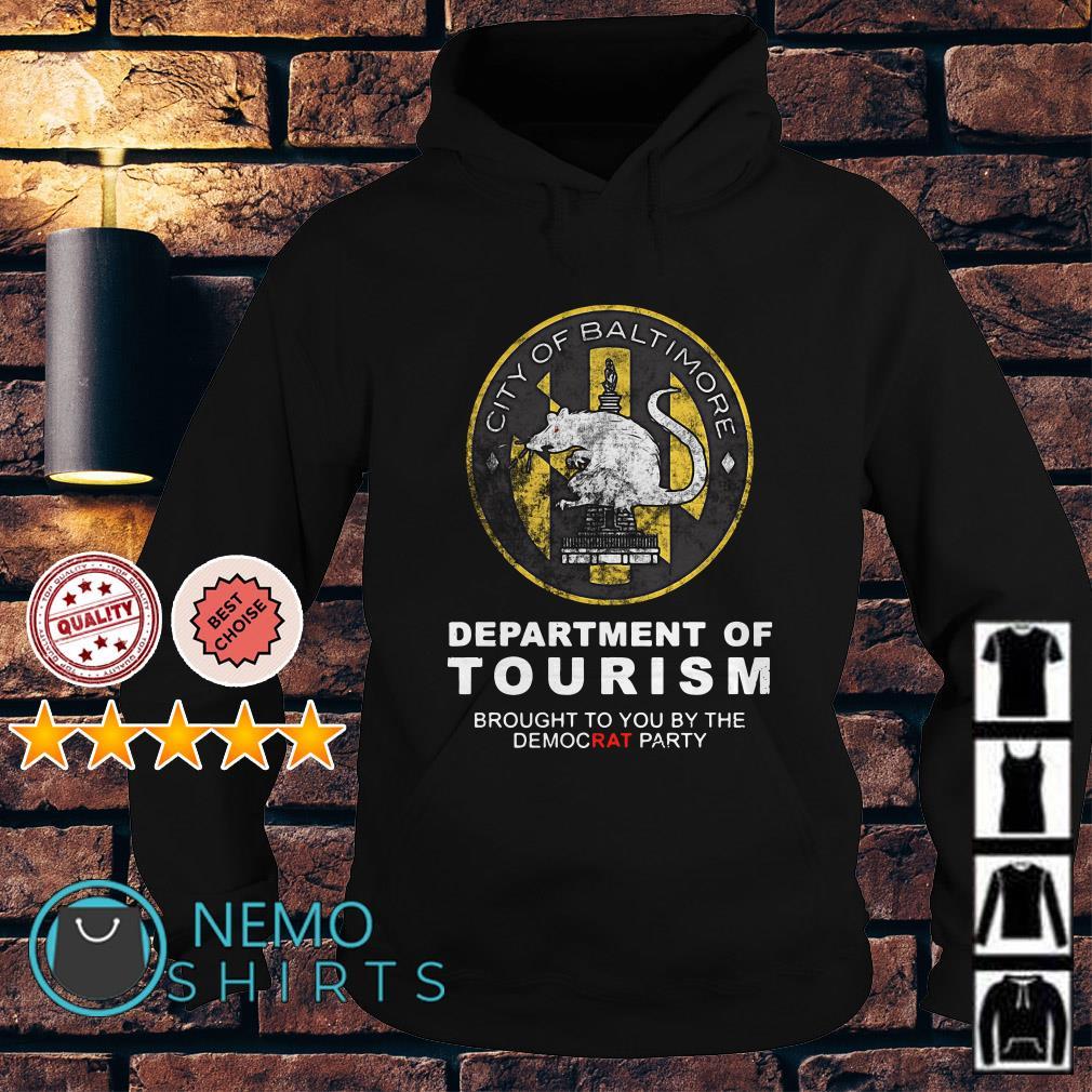 City of Baltimore Department of Tourism Premium Hoodie