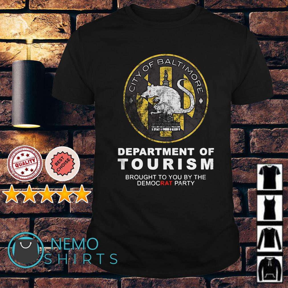 City of Baltimore Department of Tourism Premium Shirt