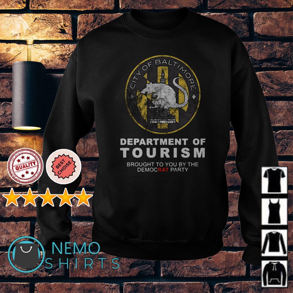 City of Baltimore Department of Tourism Premium Sweater
