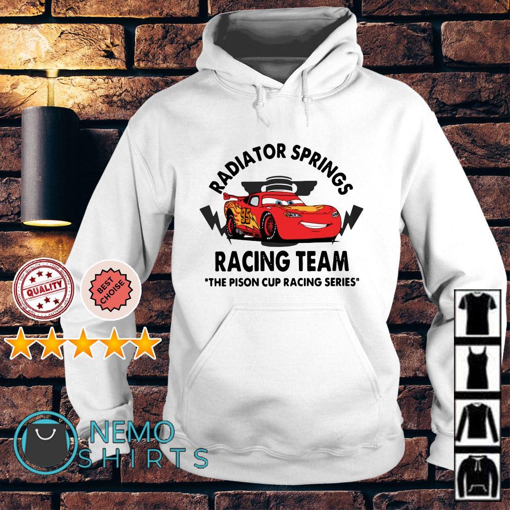 Disney Cars Radiator springs racing team the pison cup racing series Hoodie