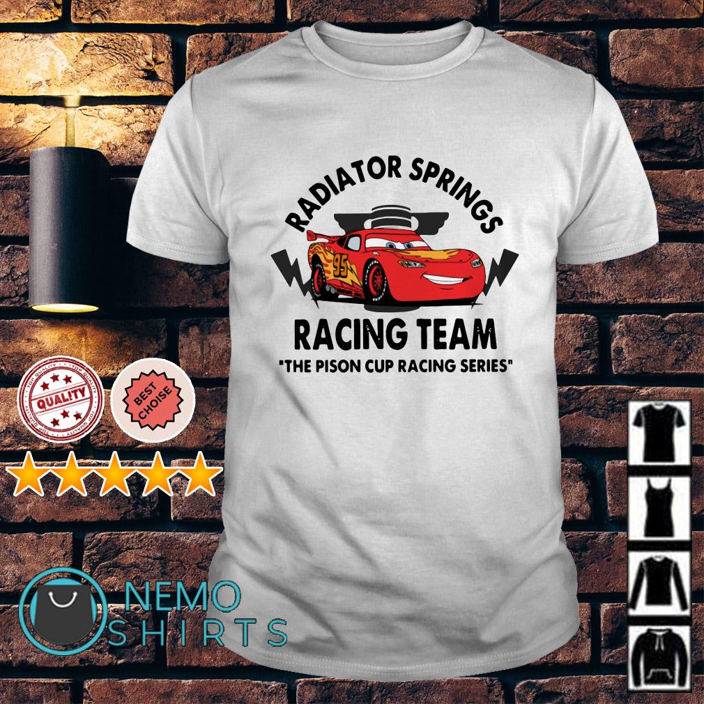 Disney Cars Radiator springs racing team the pison cup racing series shirt
