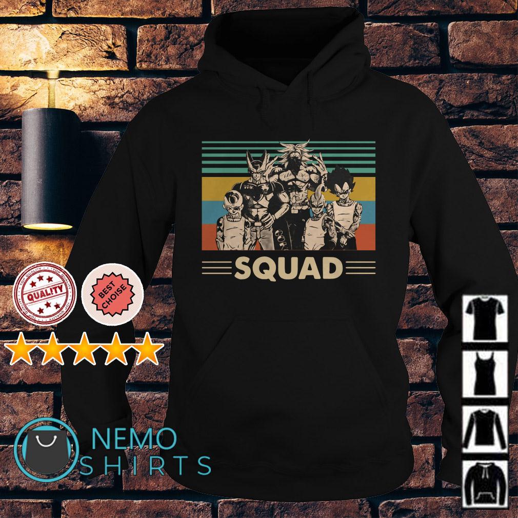 Dragon Ball squad vintage Hoodie