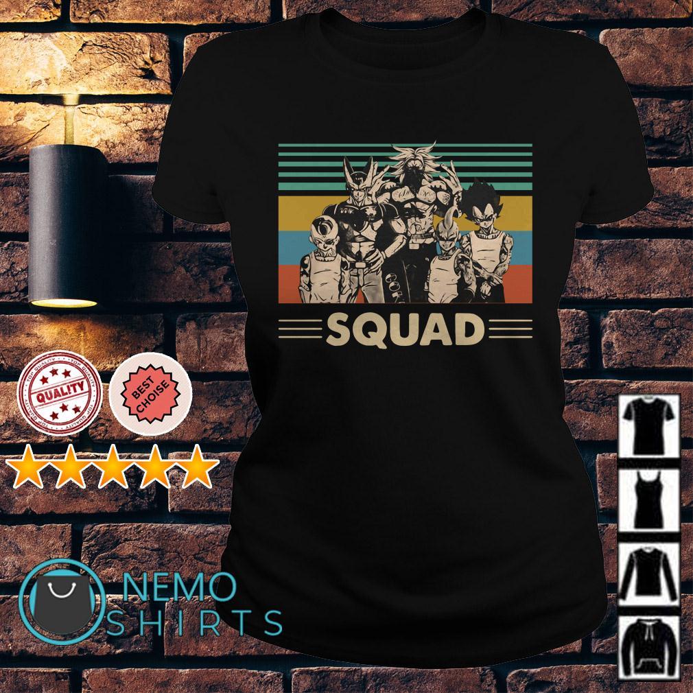 Dragon Ball squad vintage Ladies tee