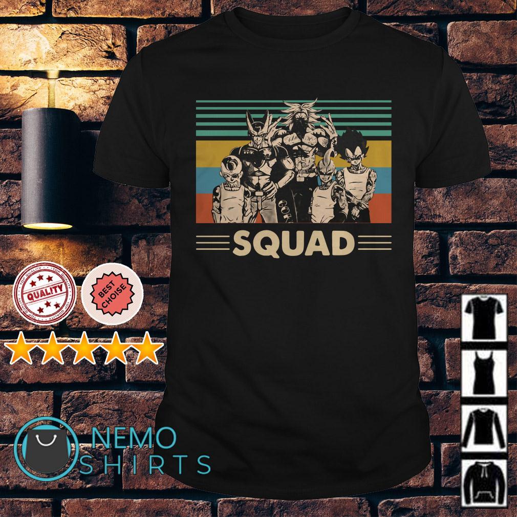 Dragon Ball squad vintage shirt
