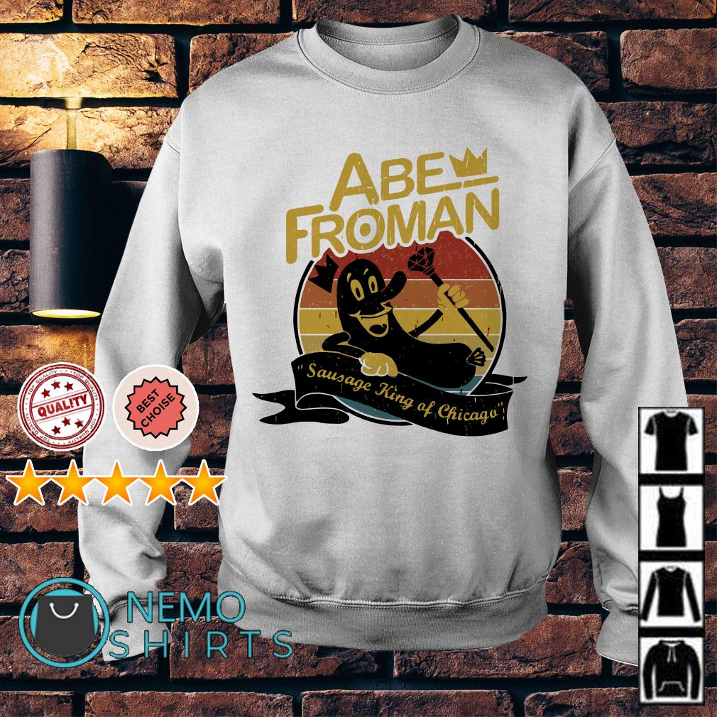 Ferris Bueller Abe Froman sausage king of Chicago Sweater