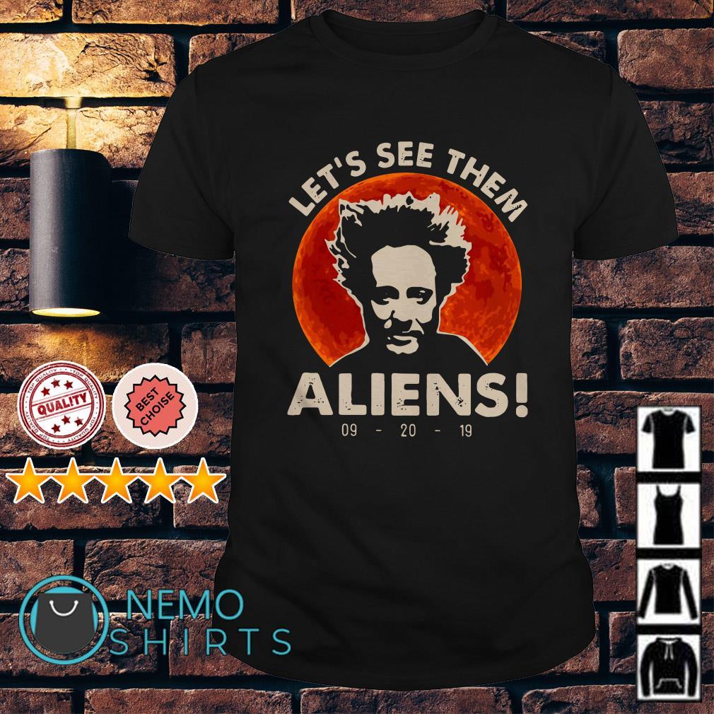 Giorgio A. Tsoukalos Let's see them Aliens shirt