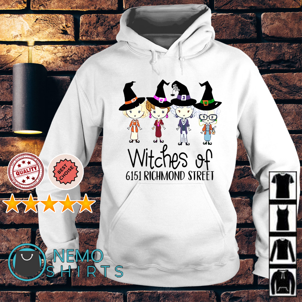 The Golden Girls witches of 6151 richmond street Hoodie