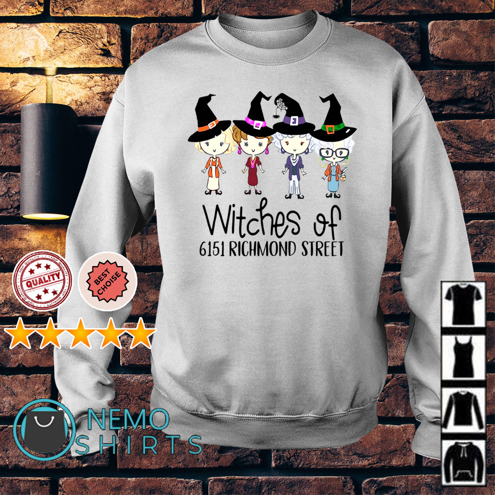 The Golden Girls witches of 6151 richmond street Sweater