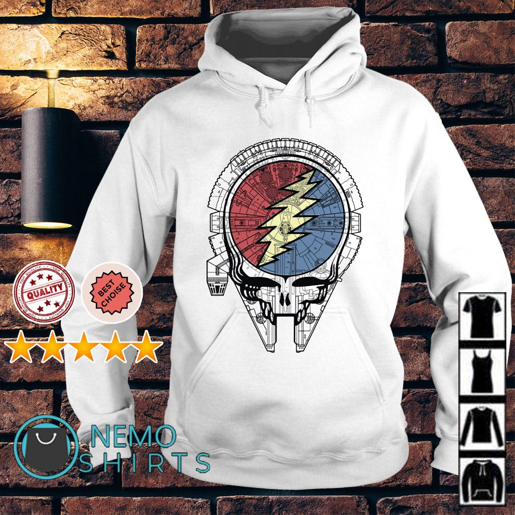 Grateful Dead Steal Your Face space Star Wars Hoodie