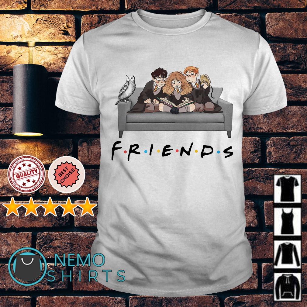 Harry Potter chibi friends TV show shirt