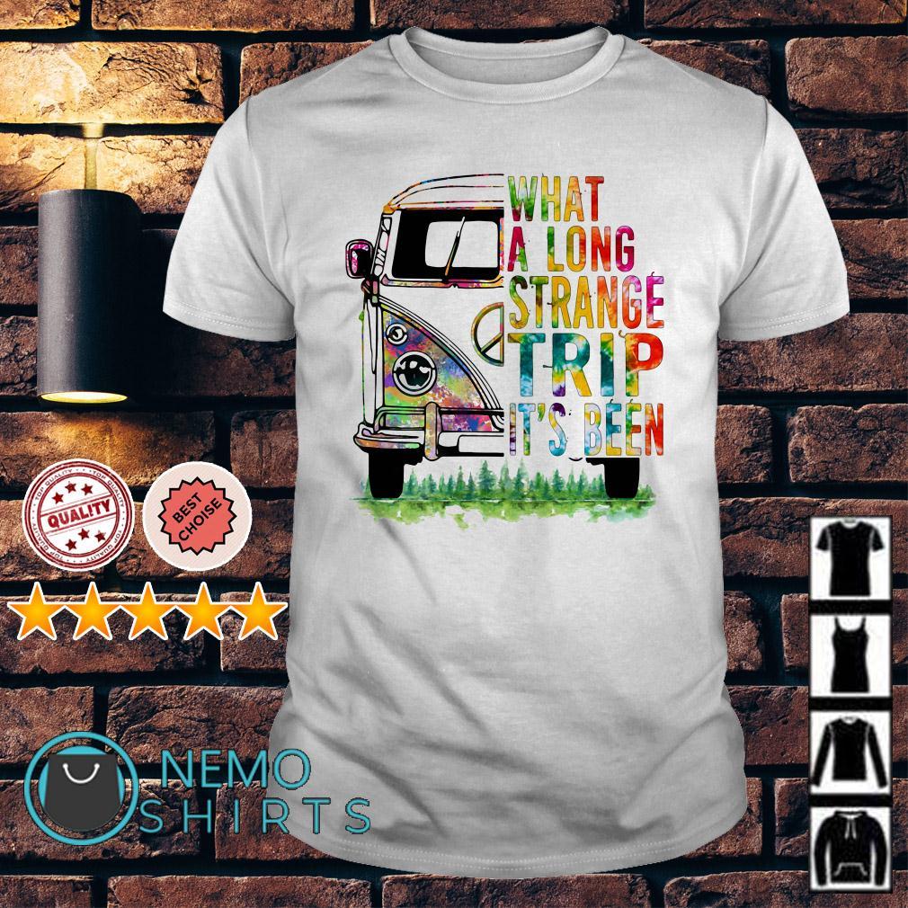Hippie van what a long strange trip it's been shirt