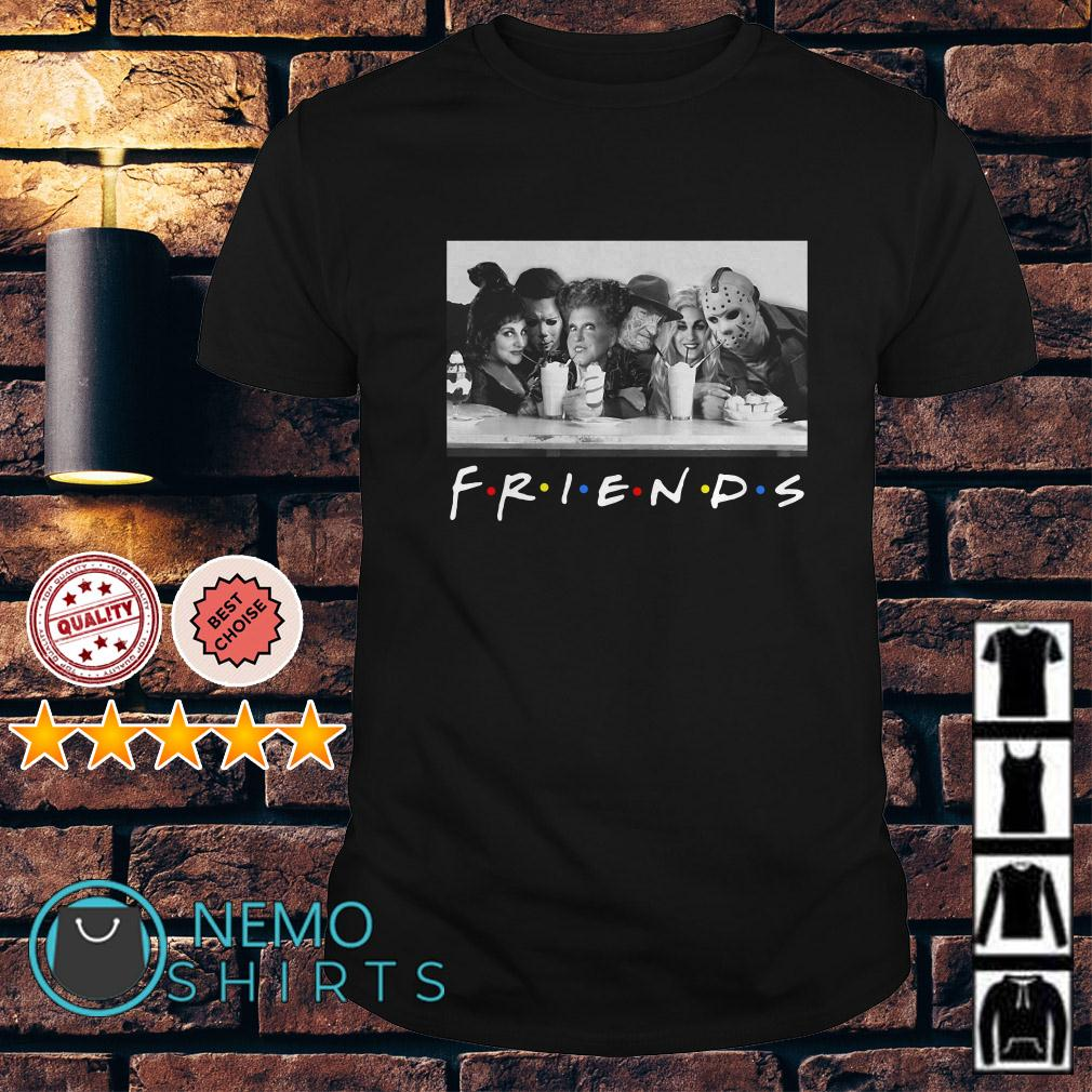 Hocus Pocus and Horror Character Friends TV show shirt