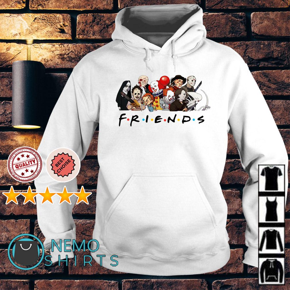 Horror characters chibi Friends TV Show Hoodie