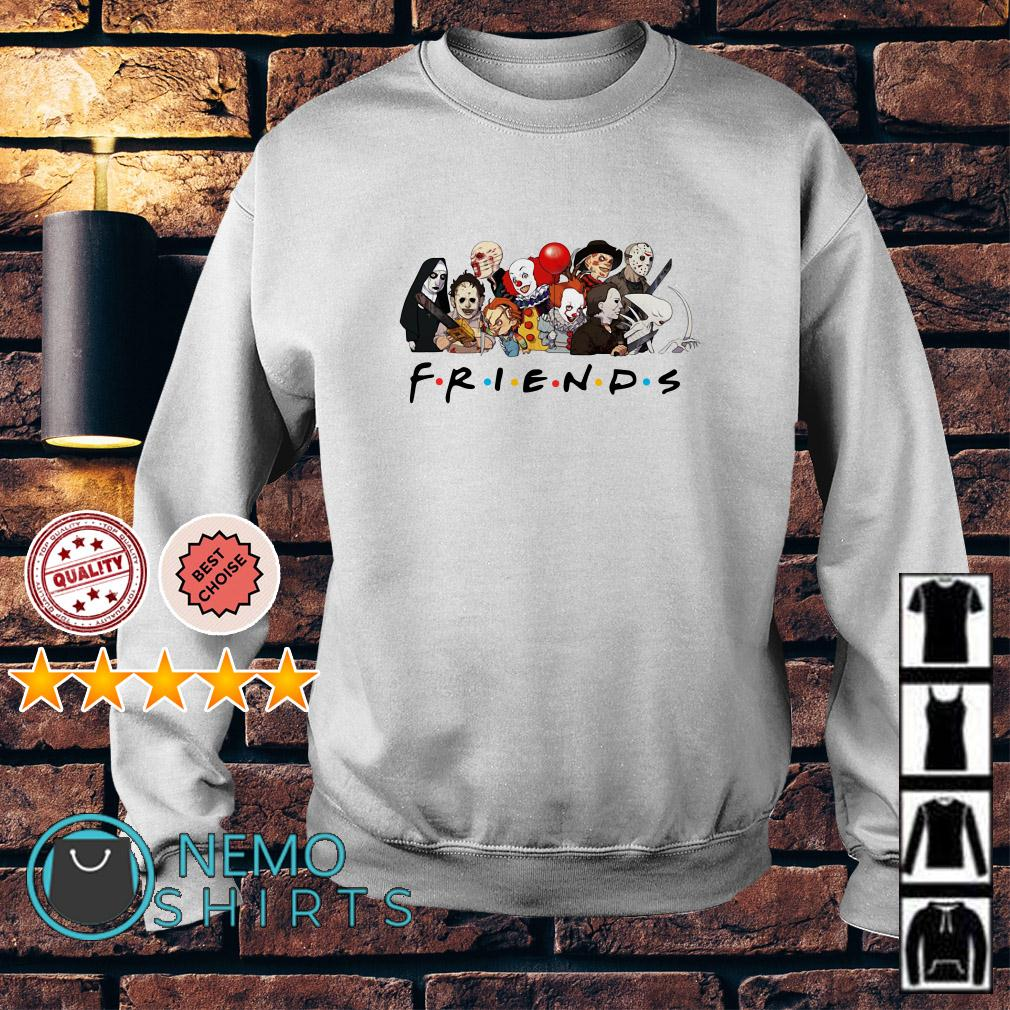 Horror characters chibi Friends TV Show Sweater
