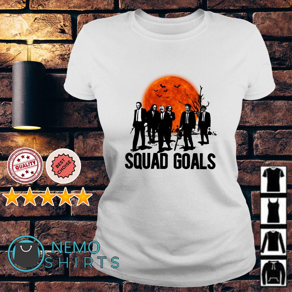 Horror characters squad goals Ladies tee