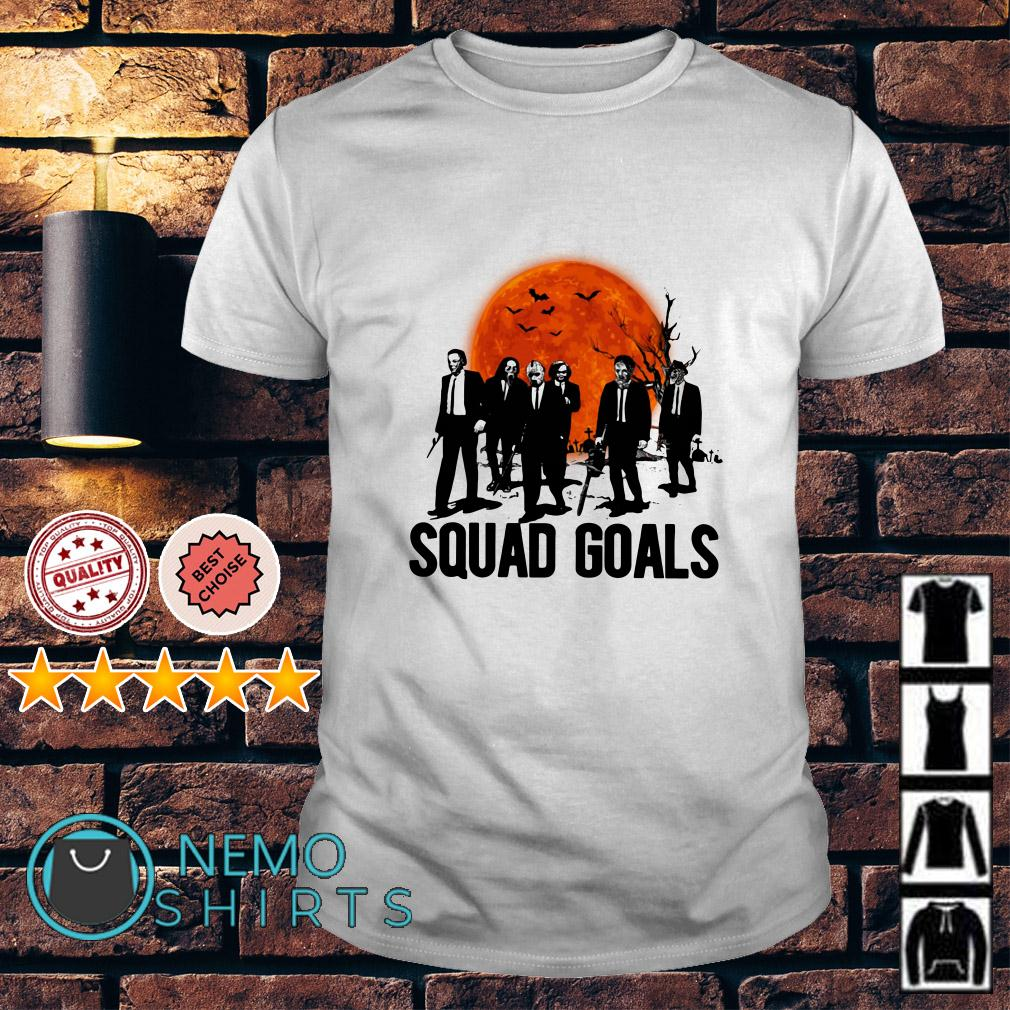 Horror characters squad goals shirt
