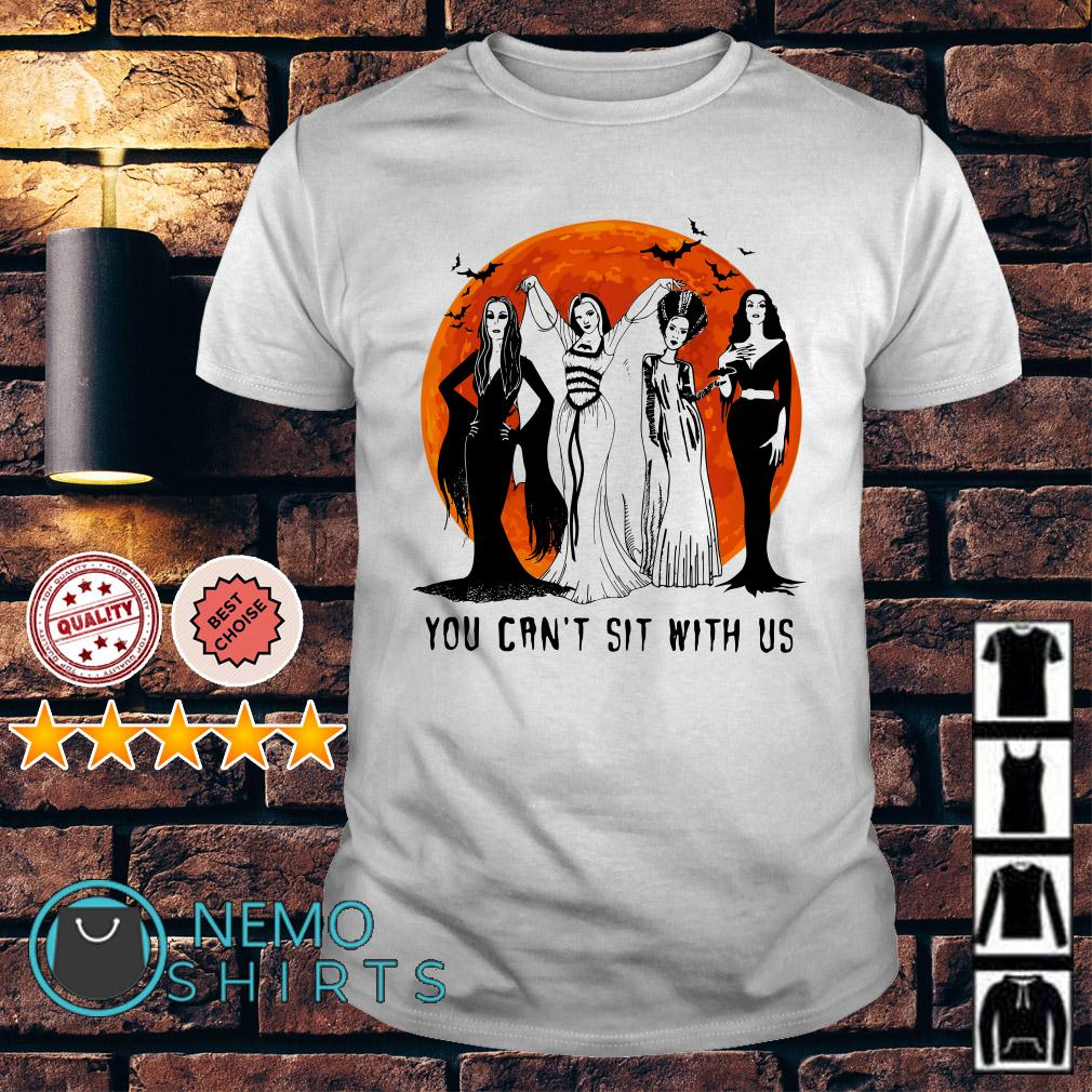 I can't sit with us Hocus Pocus Halloween shirt