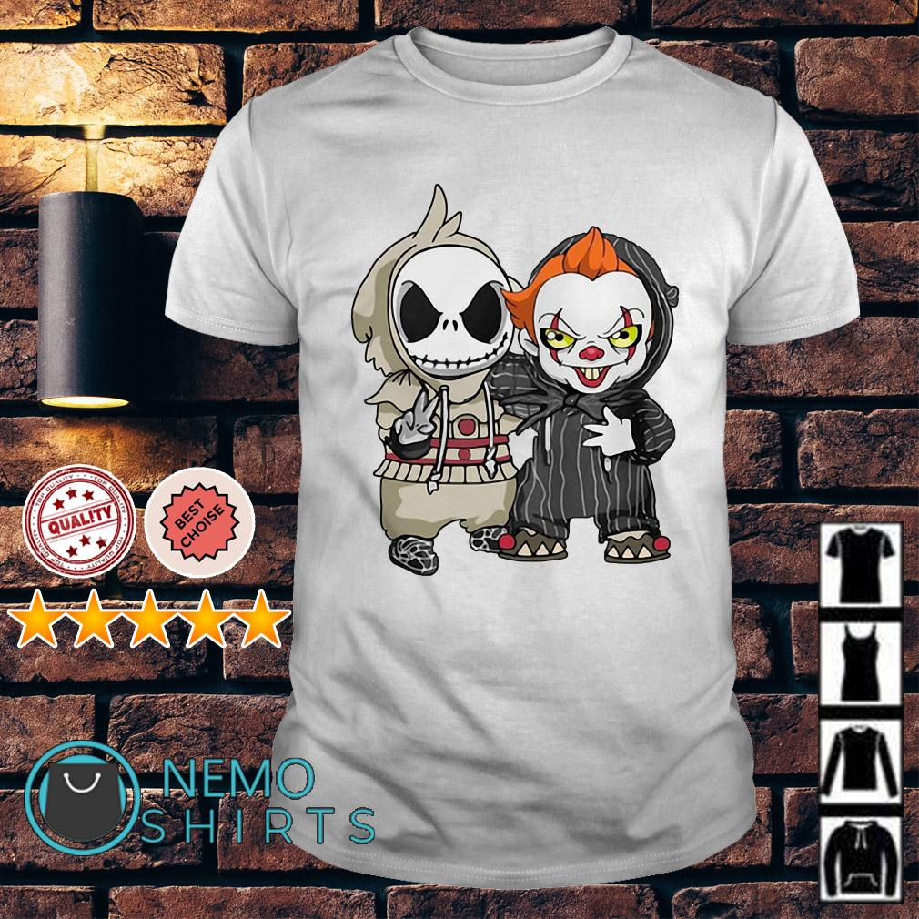 Jack Skellington and Pennywise are best friends shirt