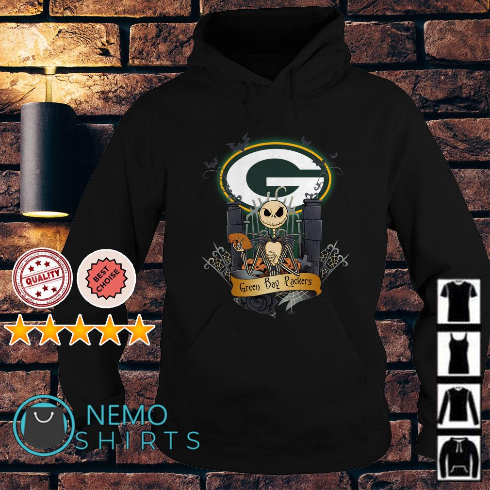 Jack Skellington Green Bay Packers Halloween Hoodie
