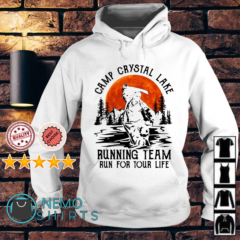 Jason Voorhees camp crystal lake running team run for tour life Hoodie