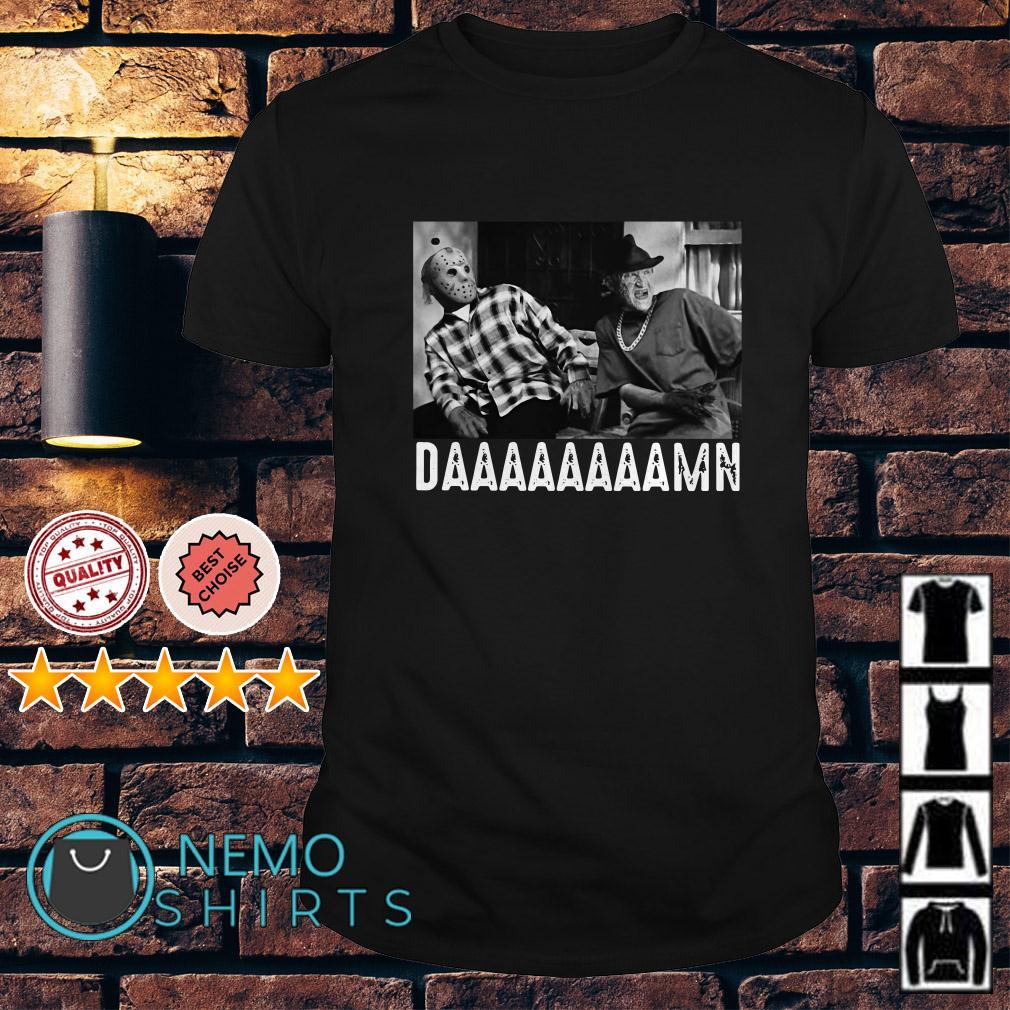Jason Voorhees Freddy Krueger daaaaaaaamn shirt