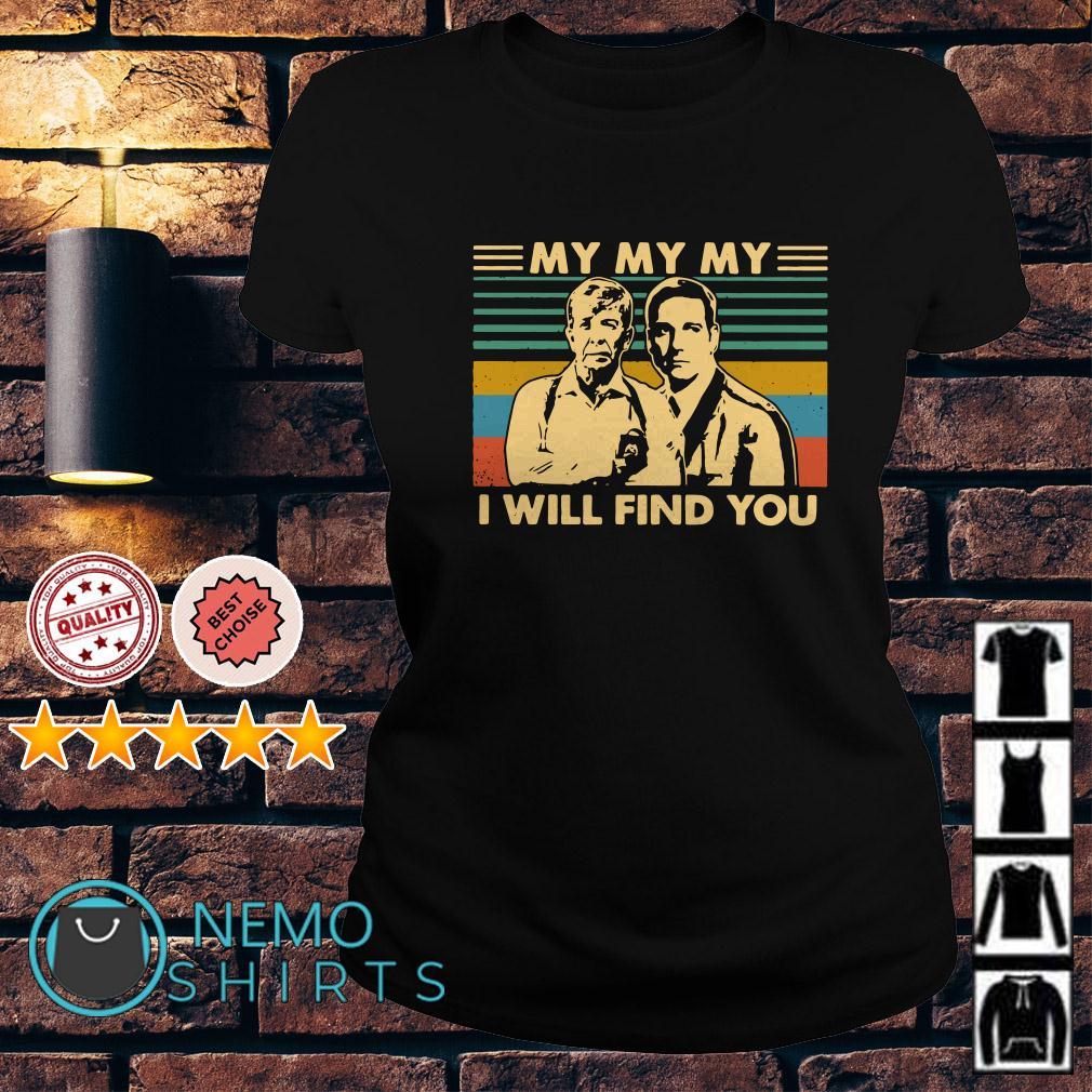 Joe Kenda and Carl Marino my my my I will find you vintage Ladies tee