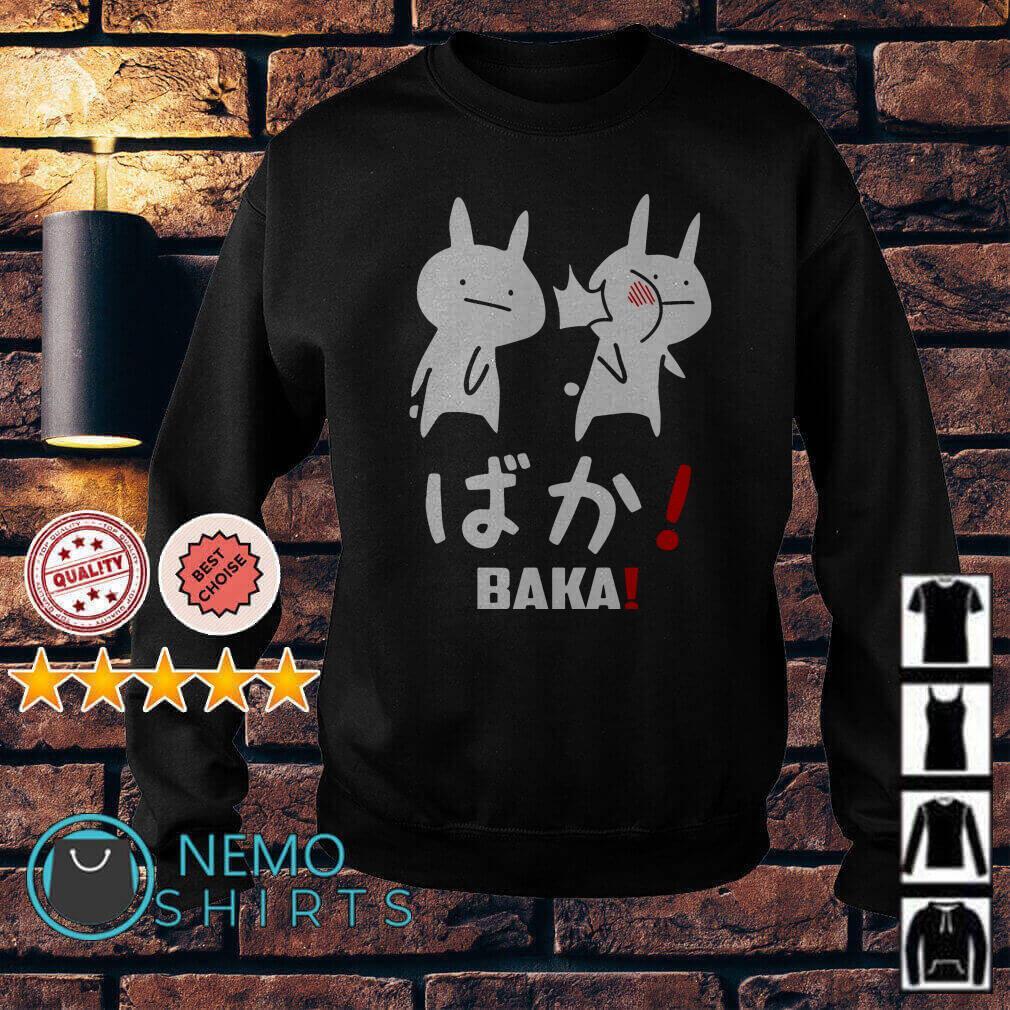 Kawaii Neko Baka Anime Sweater