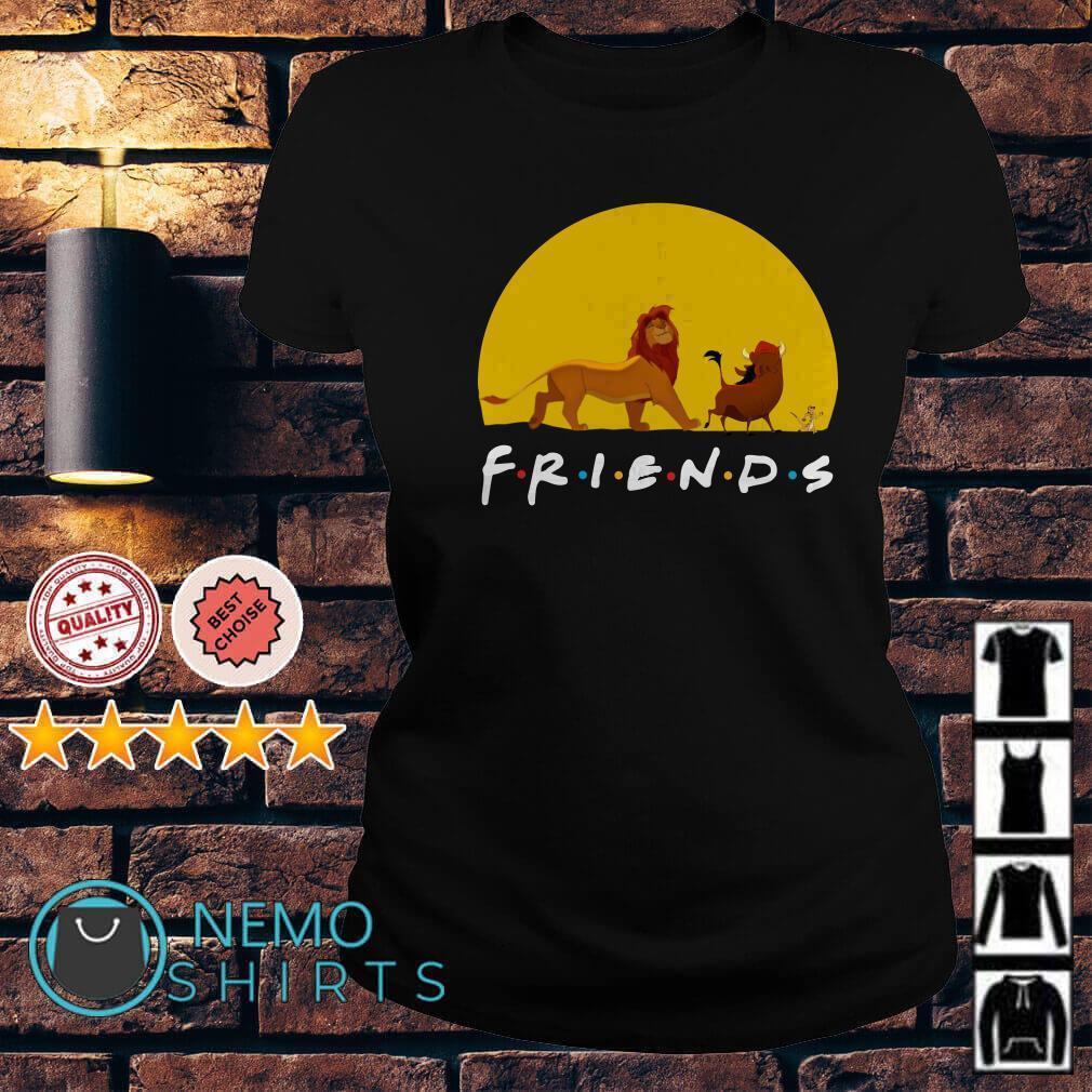 The Lion King friends Simba Pumbaa Hakuna Matata Ladies tee
