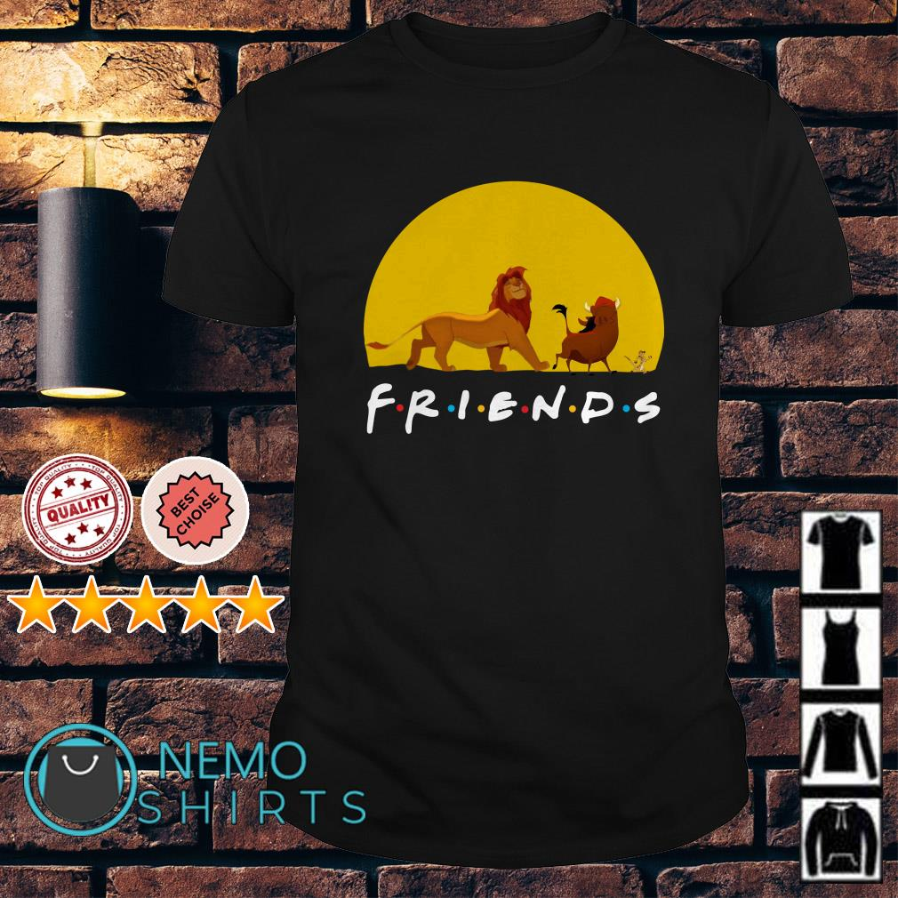 The Lion King friends Simba Pumbaa Hakuna Matata shirt