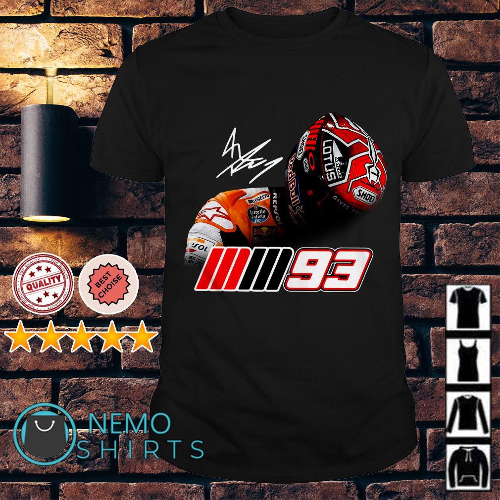 Marc Marquez MM93 signature shirt